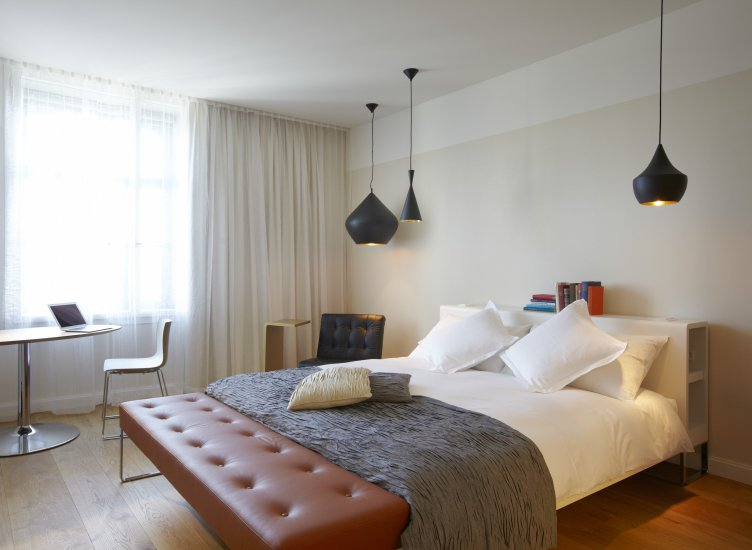 B2 boutique hotel spa hotels zurich for Top boutique hotels zurich