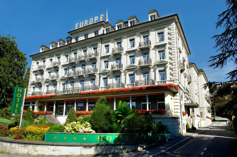 Grand hotel europe hotels lucerne for Top design hotels europa