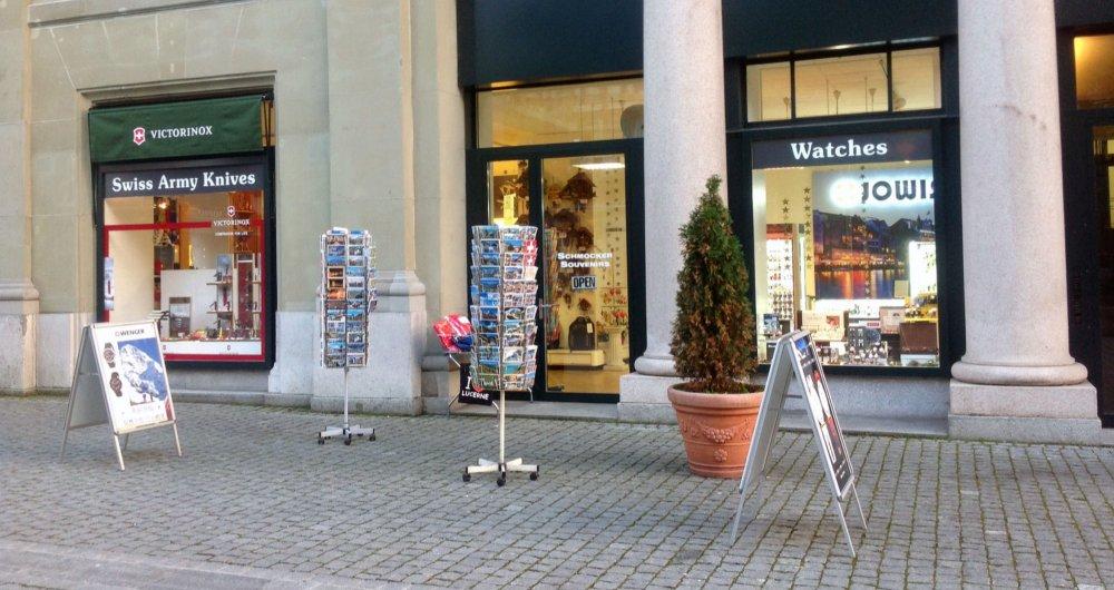 Schmocker Souvenirs Shopping Lucerne