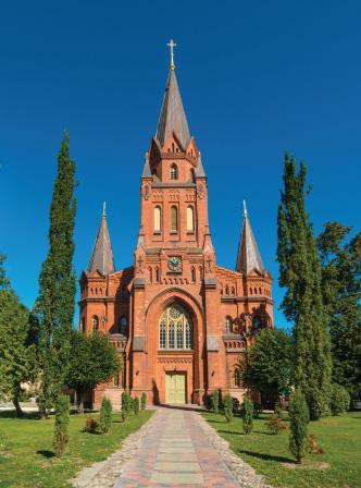 St Peter S Church Sightseeing Tartu