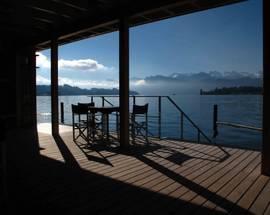 Seebad - lake pool