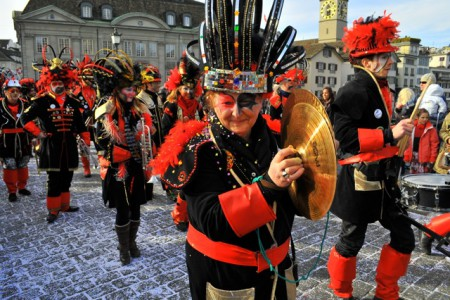 Fasnacht - music, masks and partying