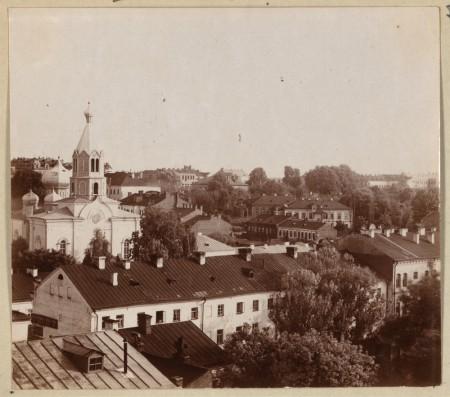 Минск середины XIX века. Исторический центр
