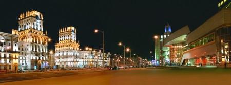 Минск. От вокзала к аэропорту:  каскад площадей по оси  «Запад – Восток». Часть 1