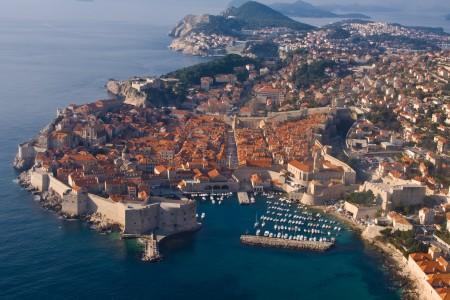 The seige of Dubrovnik