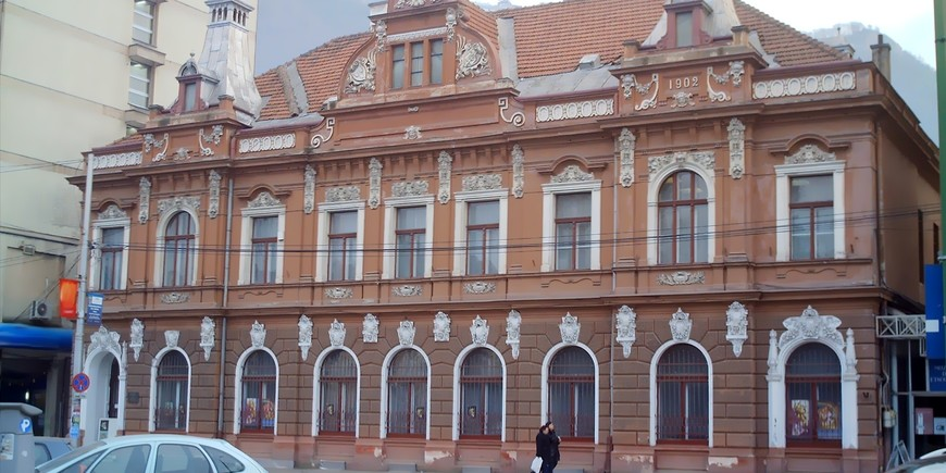 The Ethnographic Museum shares a building with the Art Museum
