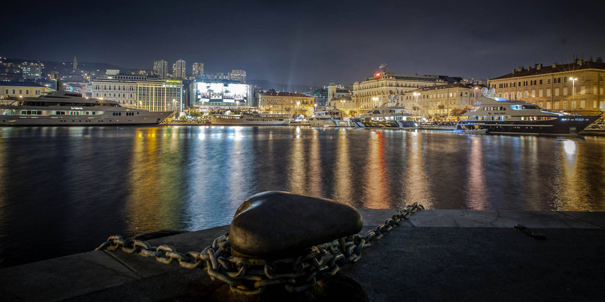 Rijeka at night