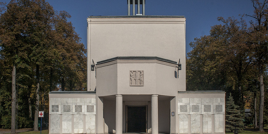 Max Berg's cemetery chapel.