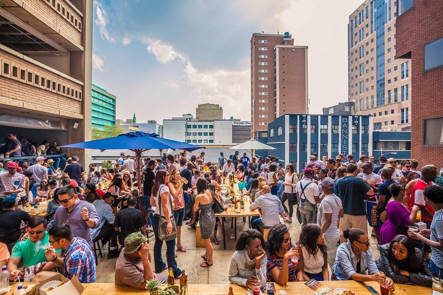 Saturdays in Braamfontein at the Neighbourgoods market