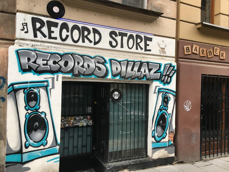 'Records Dillaz' Record Store, Krakow