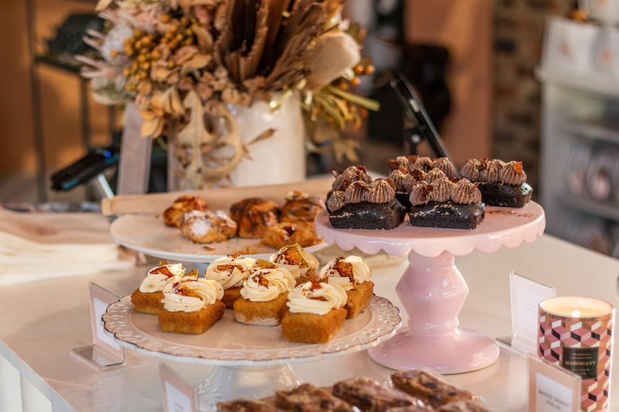 Sweet treats at Rialheim & Boho Café & Co, Rand Steam