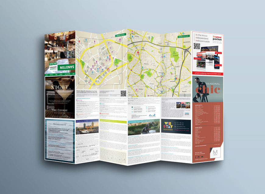 Sandton In Your Pocket Mini-Guide