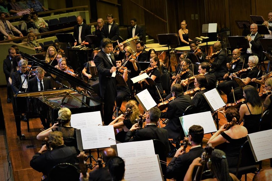 Johannesburg Philharmonic Orchestra in concert