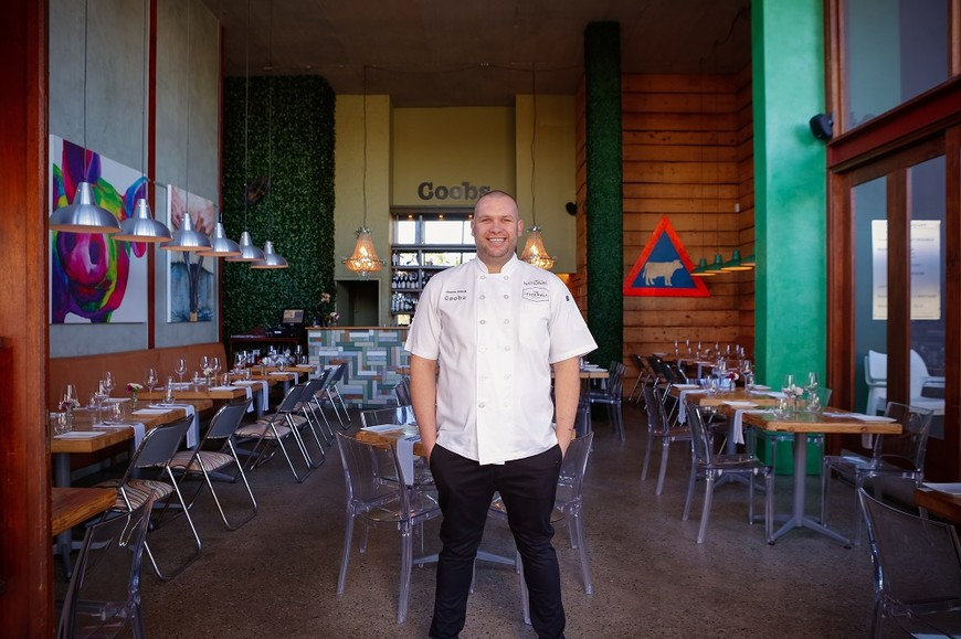 James Diack, chef and owner of Coobs in Parkhurst