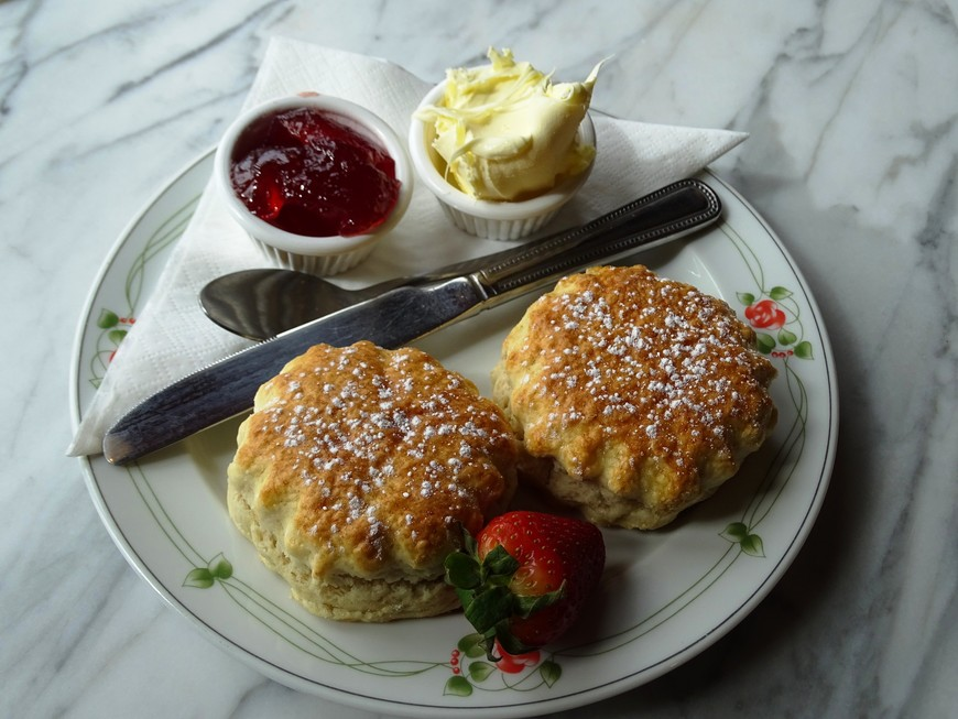 Granny Lil's buttermilk scones by Chef Charne Wylie from Capsicum Culinary Studio