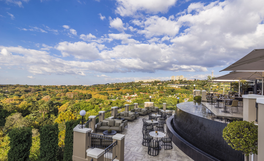 Epic views at Four Seasons Hotel The Westcliff