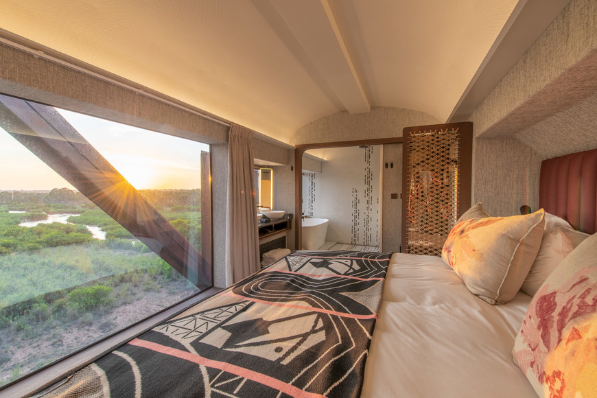 Room with a view at Kruger Shalati