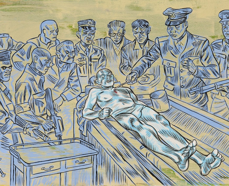 The Anatomy Lesson. A solo exhibition by Conrad Botes