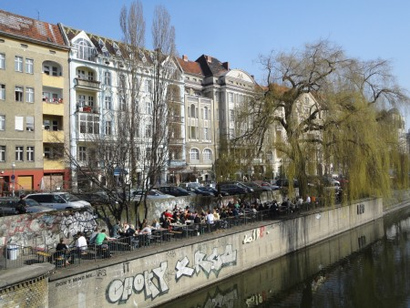 Berlin-Kreuzberg. Anarchists and immigrants.