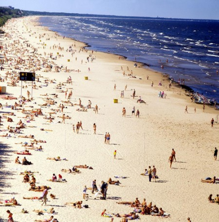 Beaches in and around Riga