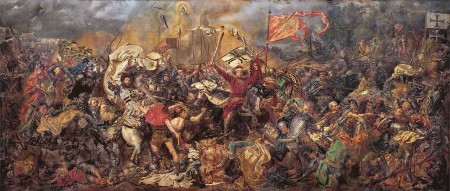The Teutonic Knights and the Battle of Grunwald