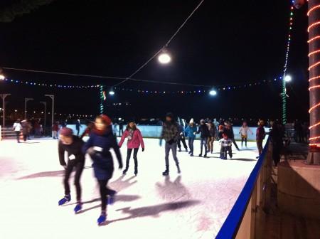 Ice Skating in Kraków