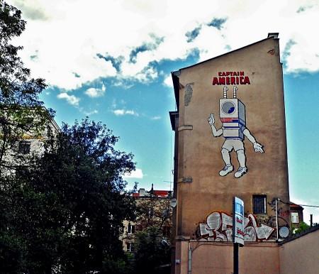 Warsaw Street Murals