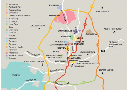 A Guide to Johannesburg's Districts