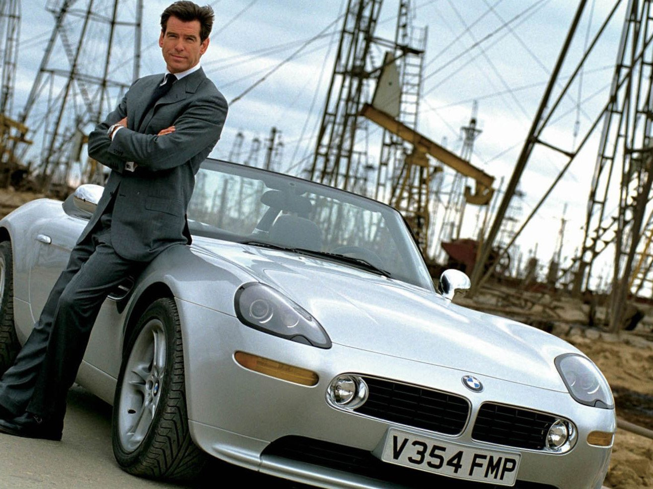 James Bond in Baku Oil Fields, Pierce Brosnan in The World is Not Enough