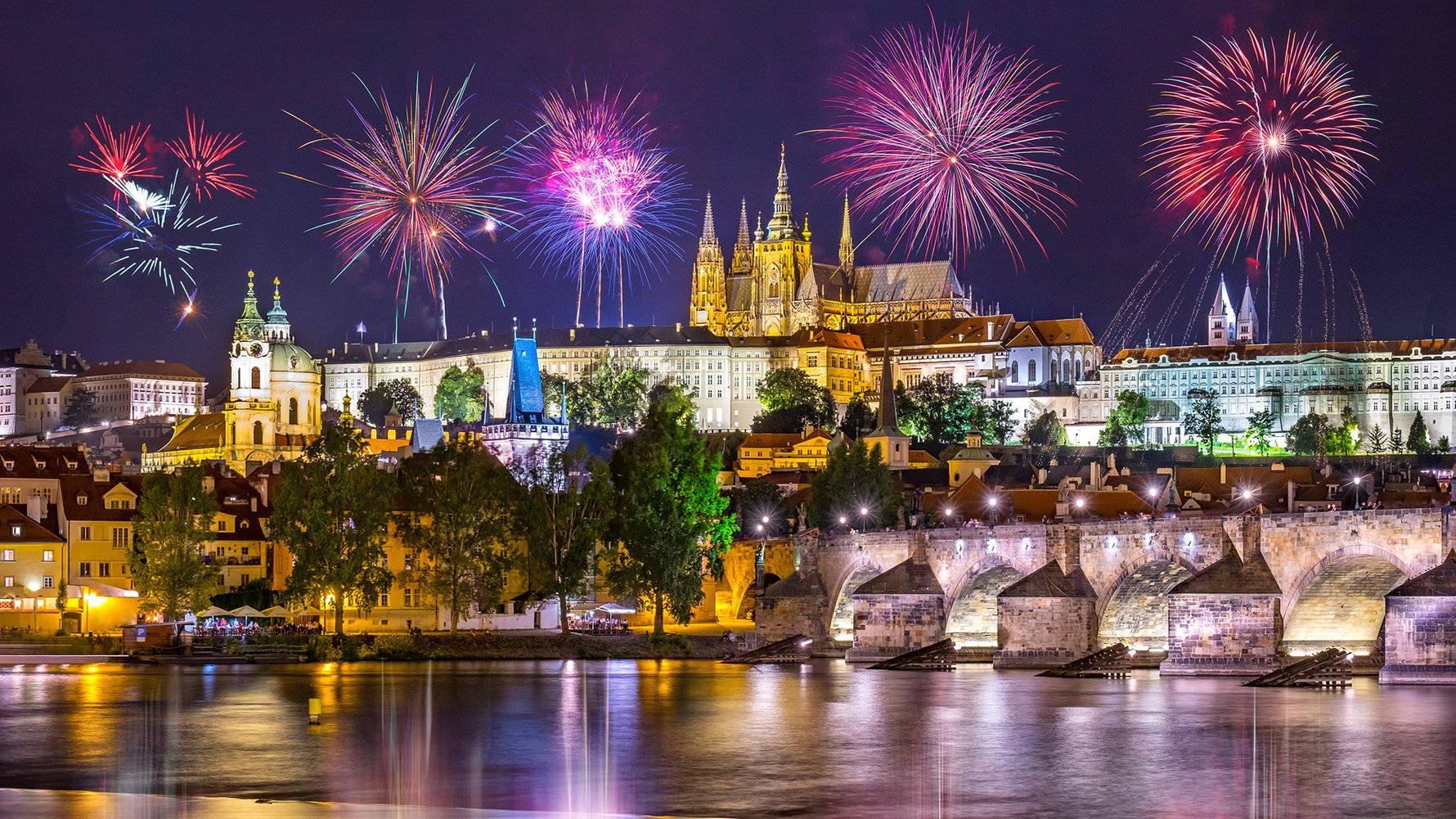 Where to Celebrate New Years Eve in Prague 2020 © Shutterstock.com