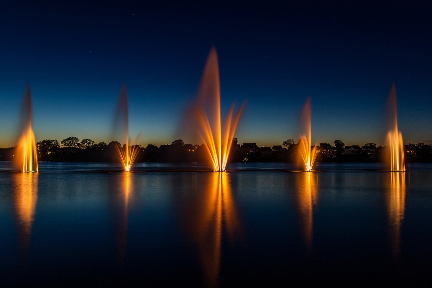 Aarhus Day Trips, Things to do in Silkeborg - Fountains © Erik Lyngsøe from Pixabay
