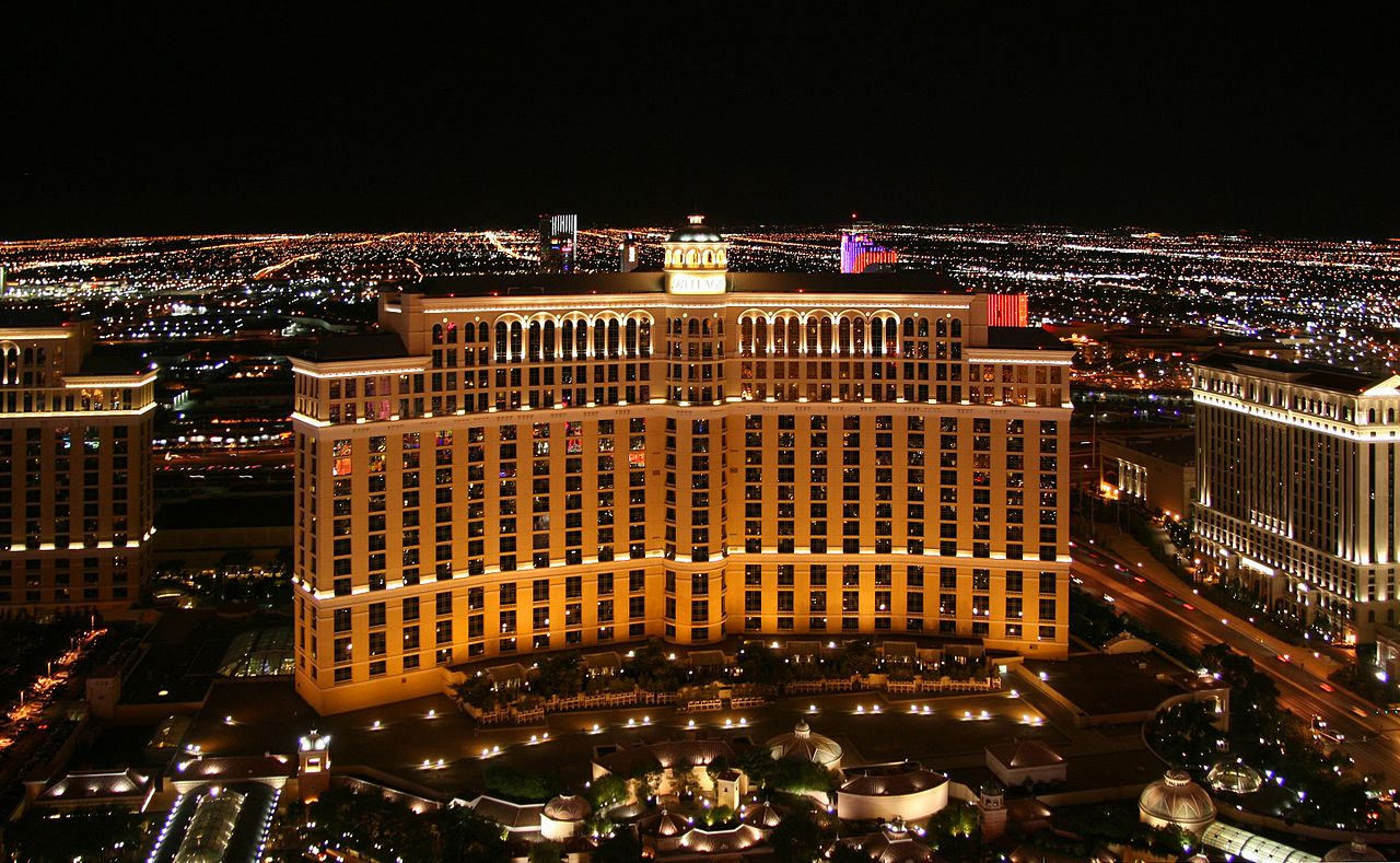 Best Casinos in London and Abroad - Las Vegas Bellagio © CC