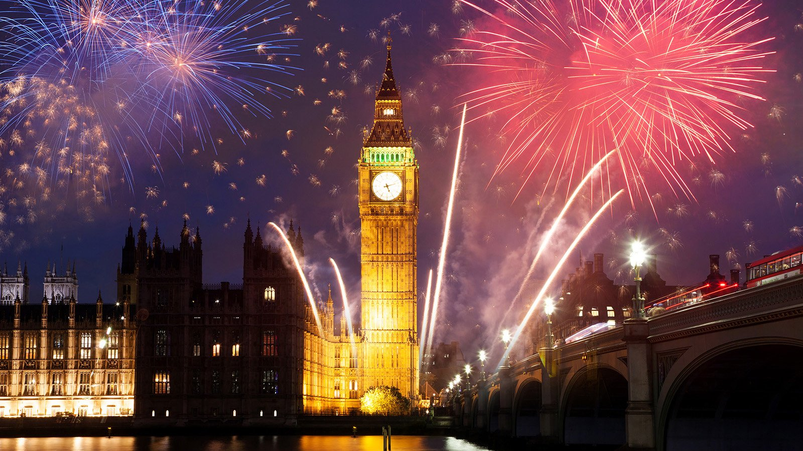Where to Celebrate New Years Eve 2020 in London © Shutterstock.com