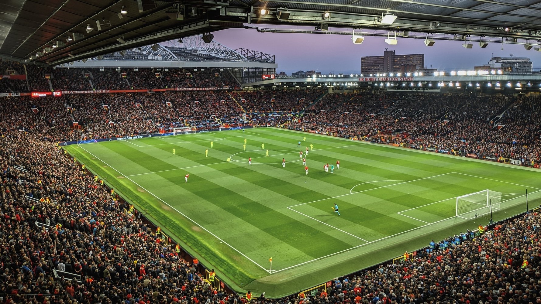 Guide to Old Trafford, Home of Manchester United in Manchester England © Alex Motoc - unsplash