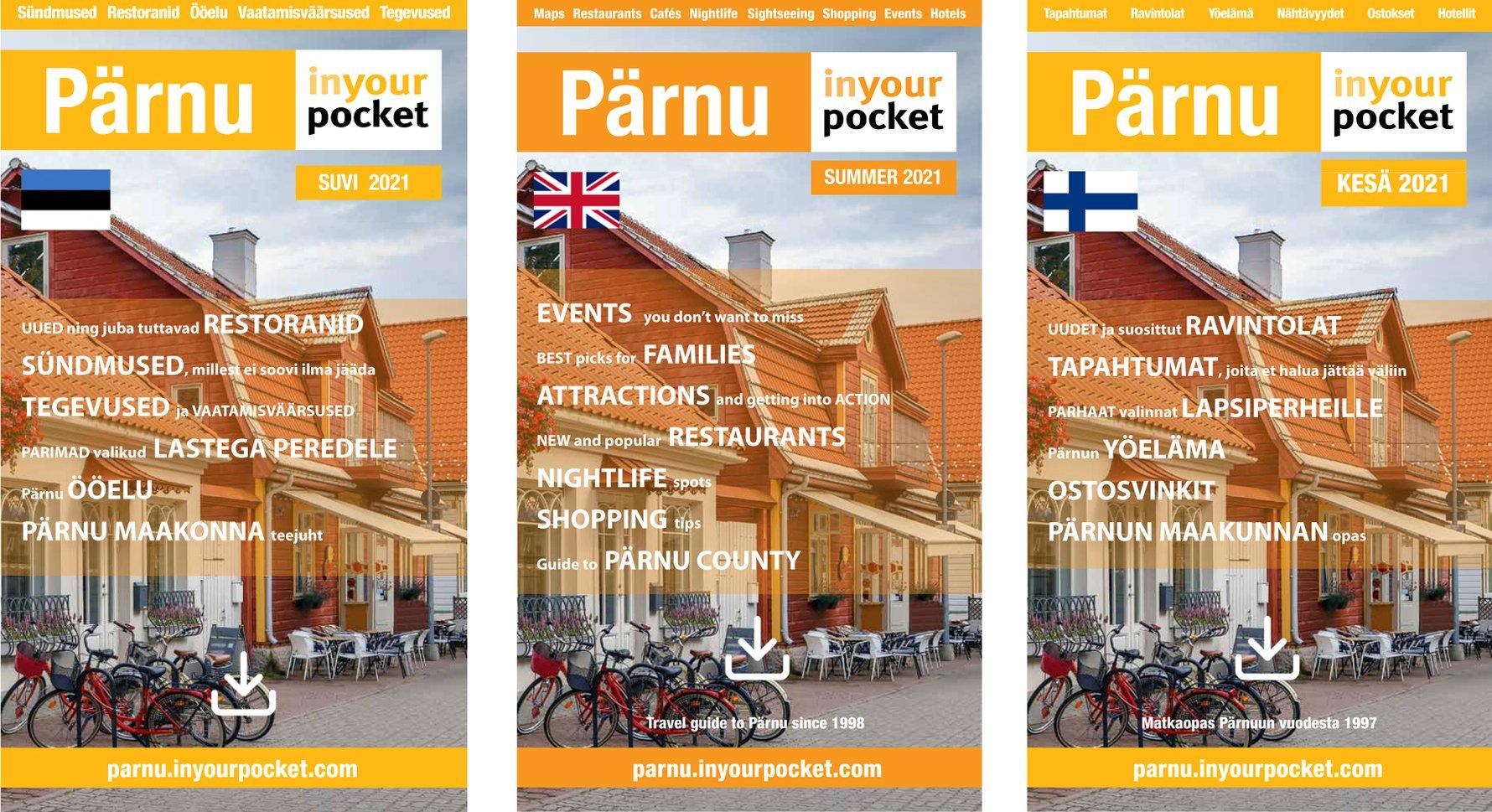 Pärnu In Your Pocket 2021: ENG / EST / FIN