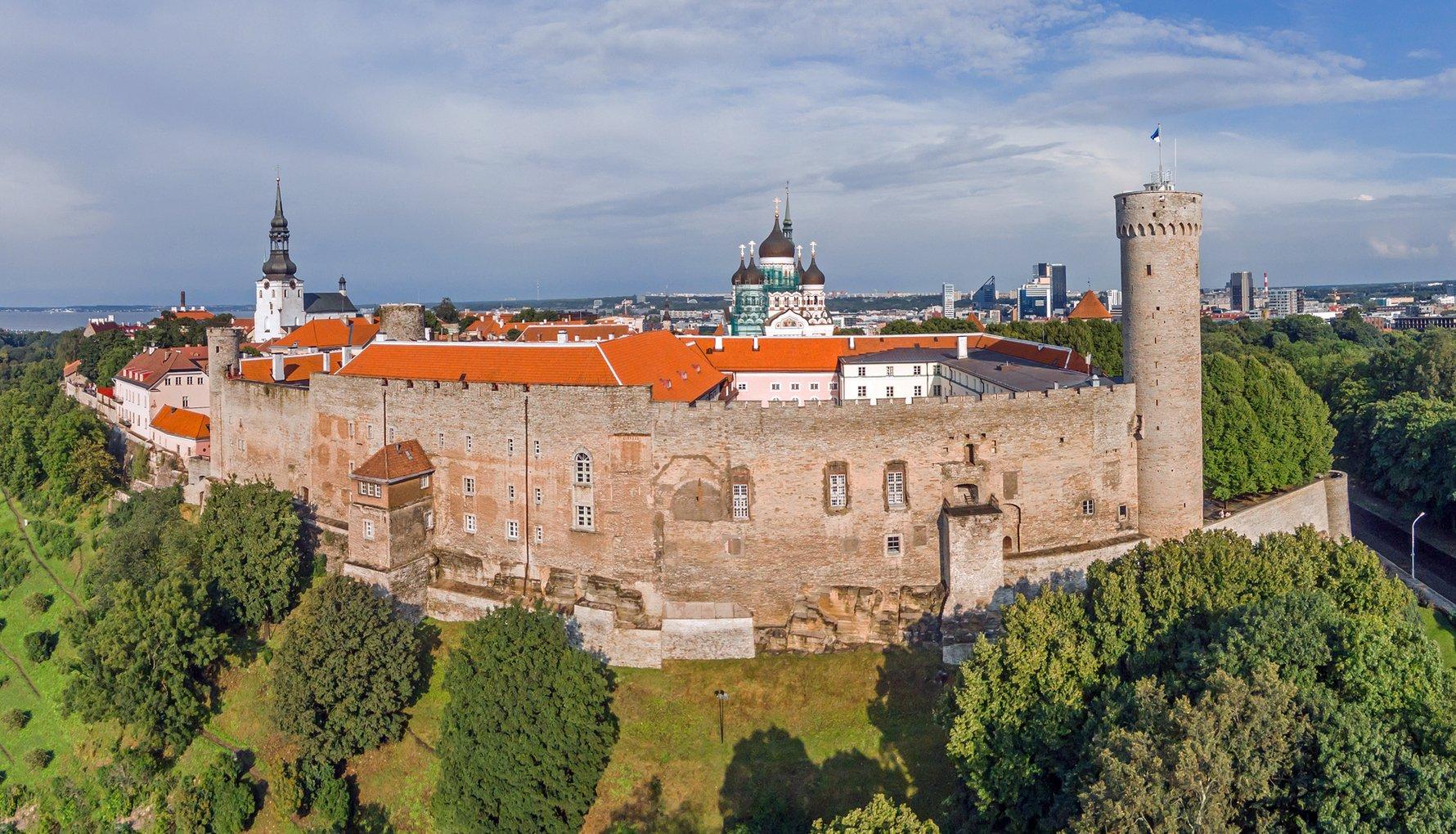Toompea Hill. Photo by Kaupo Kalda. Visit Tallinn.