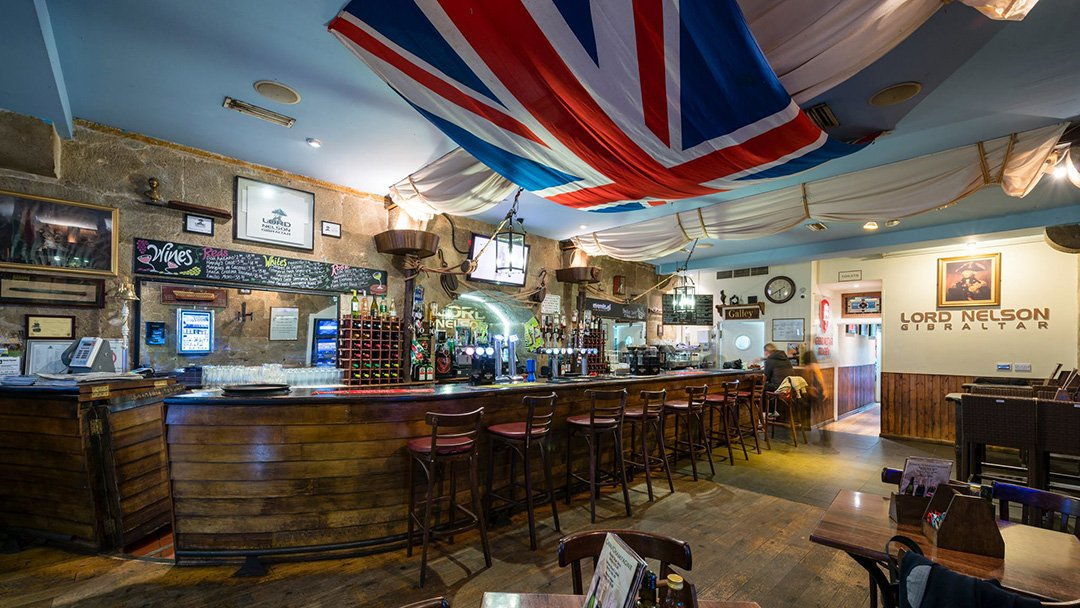 Best Pubs in Gibraltar - Lord Nelson Pub