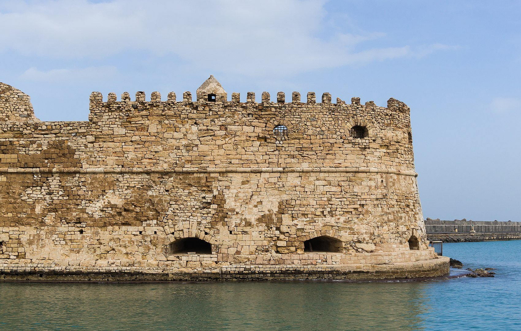 Top Attractions on Crete, Greece - Koules Fortress © Jebulon, CC