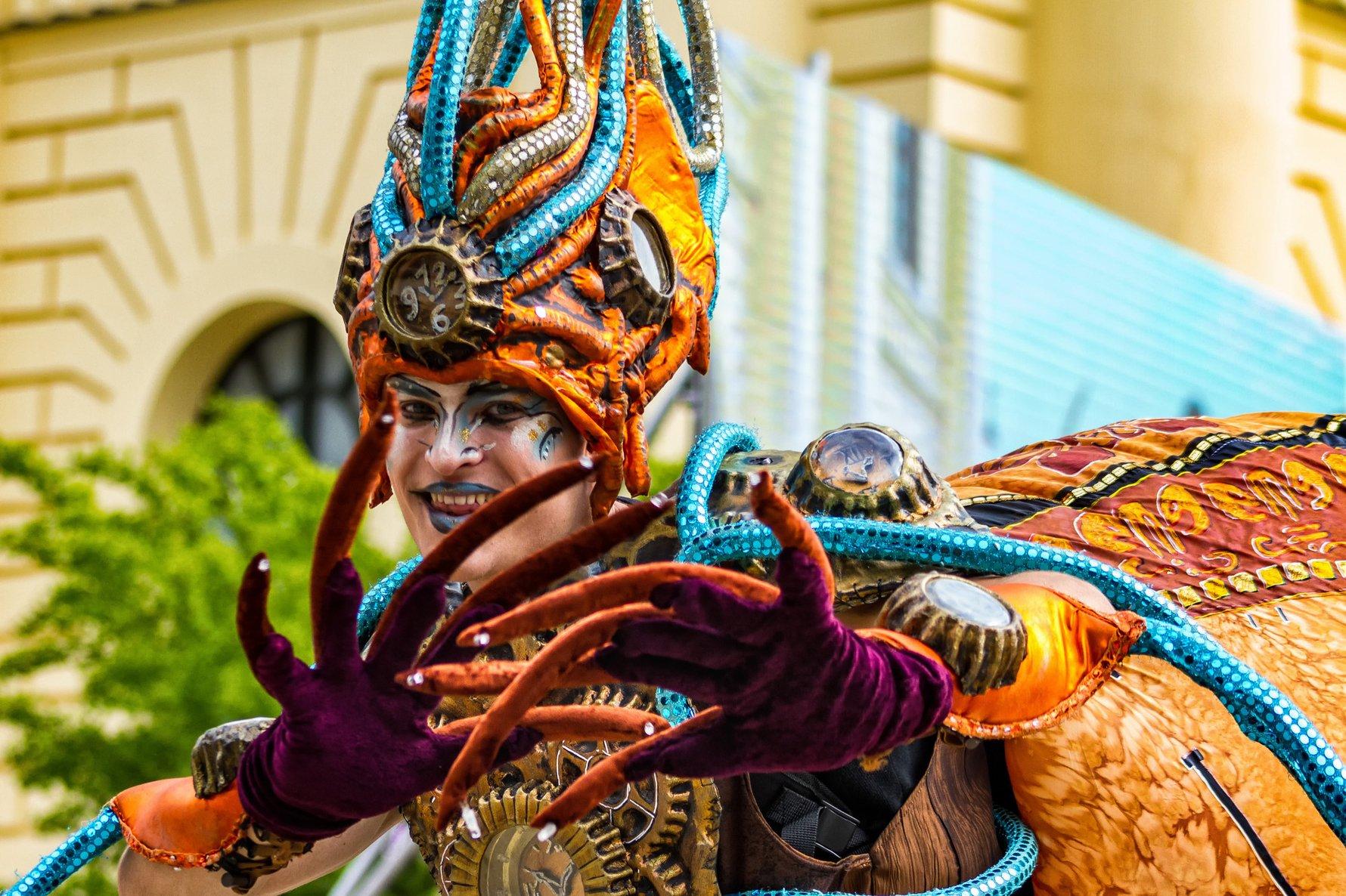 Carnival Dalido in Debrecen Hungary © Yanosh Nemesh / Shutterstock.com