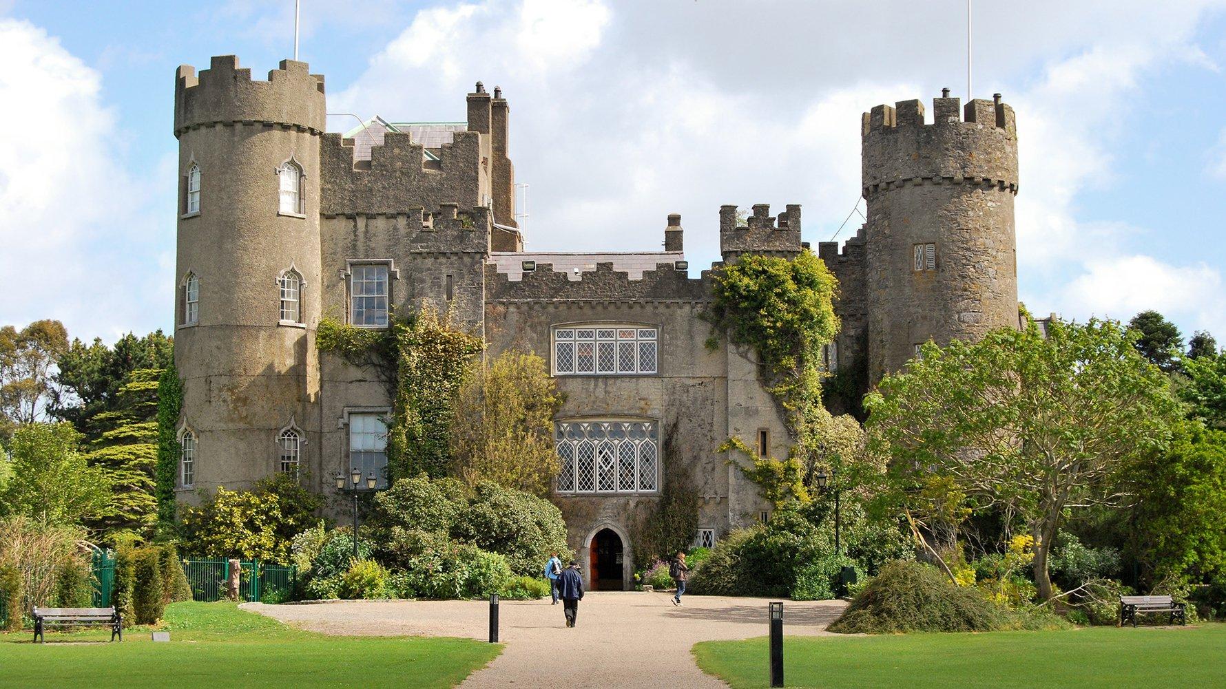 © neuartelena Shutterstock.com  the malahide castle near dublin, ireland