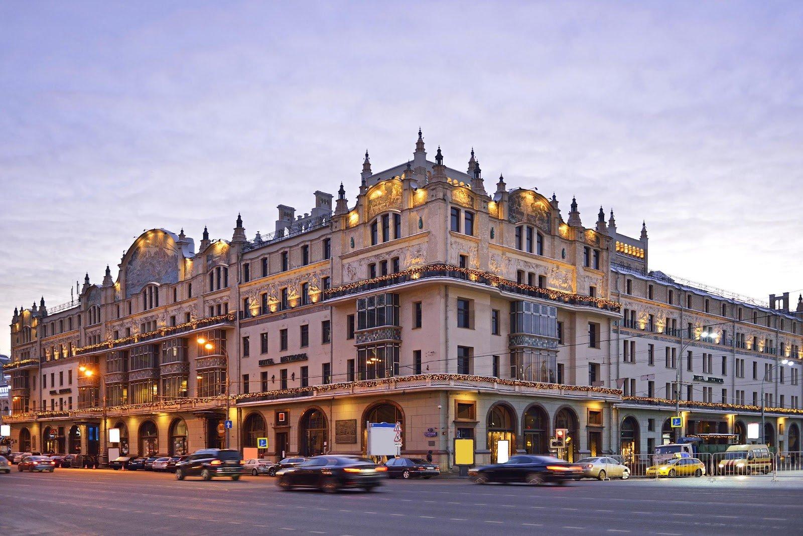 Hotel Metropole in Monaco