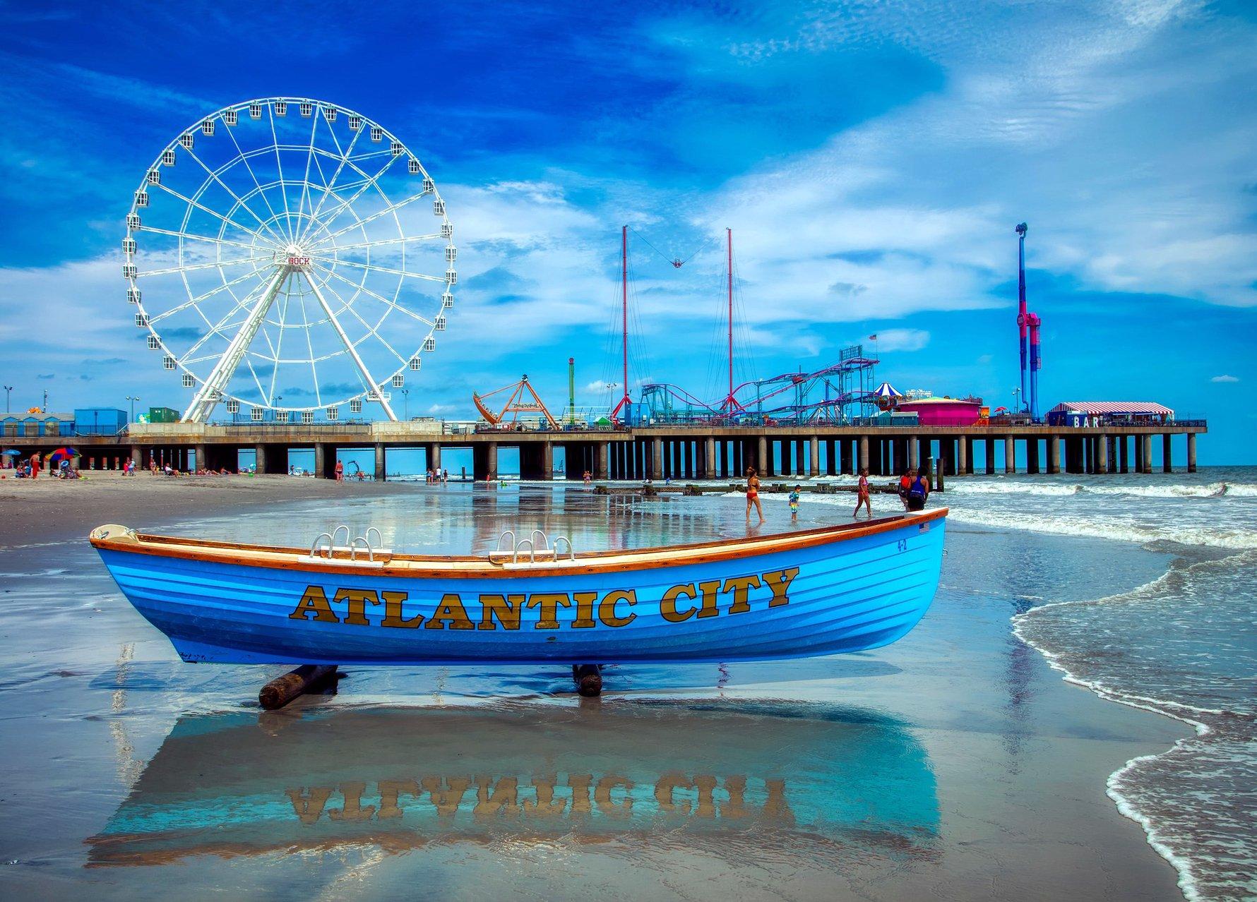 Top Gambling Destinations in the World - Atlantic City, USA © 1778011, Pixabay