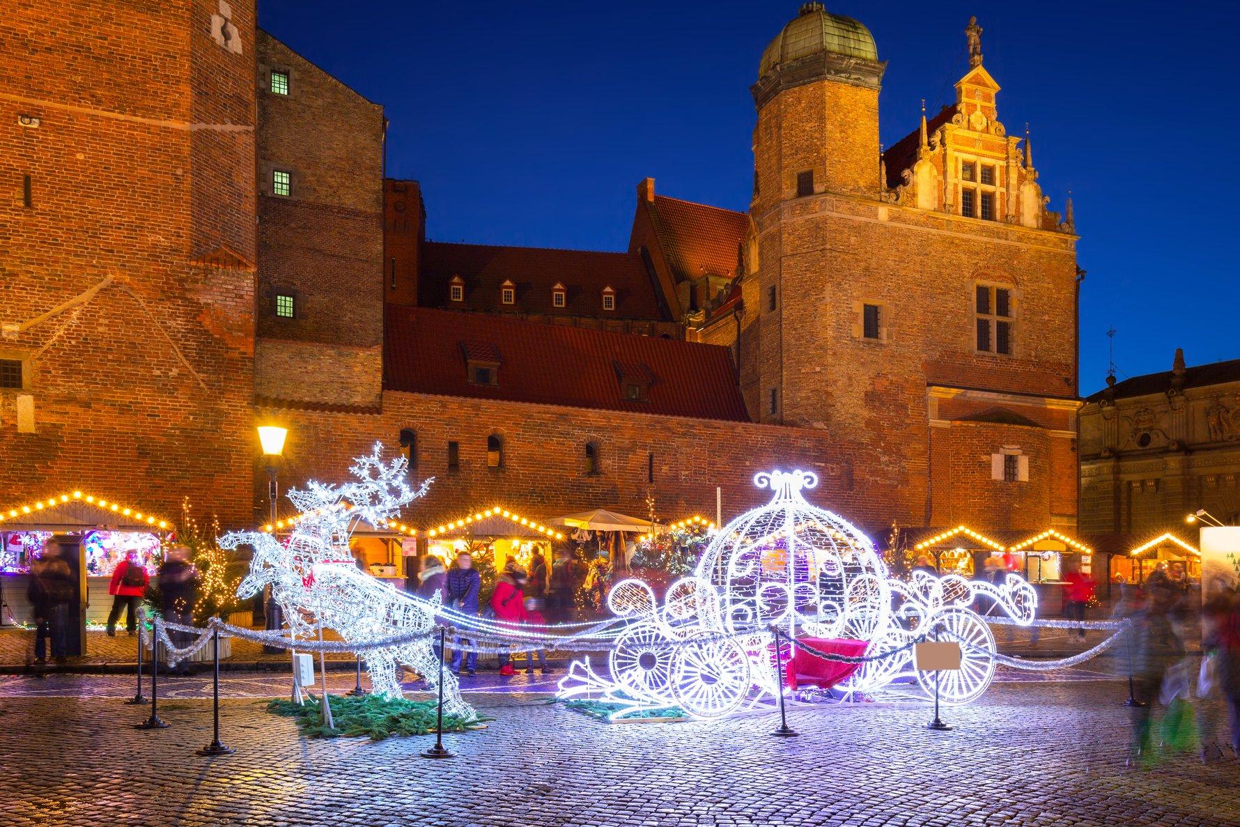 Gdańsk Christmas Market (Targ Węglowy). Photo by Patryk Kosmider.