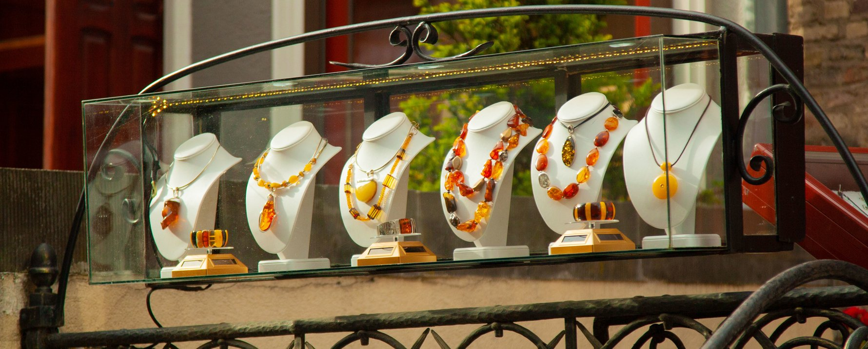 Amber Necklaces on Mariacka