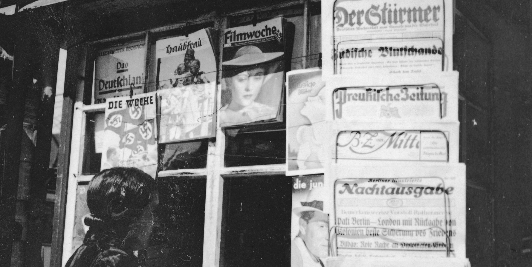 German newspaper censorship in Danzig, 1937