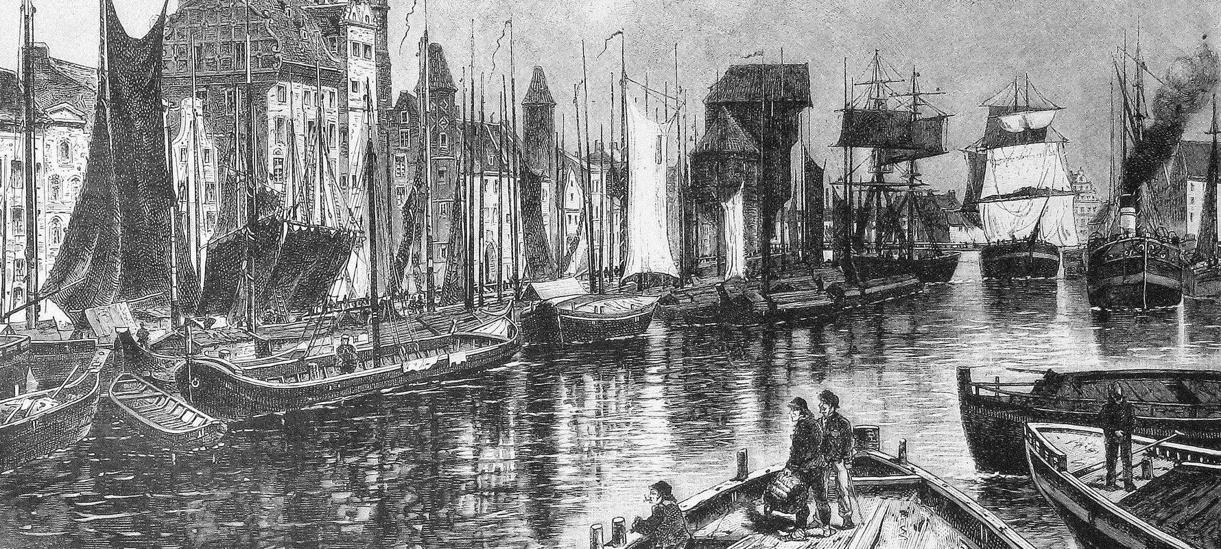 Die Gartenlaube (1886), Gdańsk Waterfront