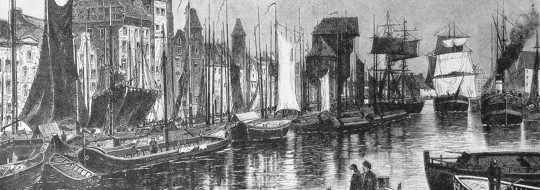Die Gartenlaube (The Gazebo) Danzig, 1886
