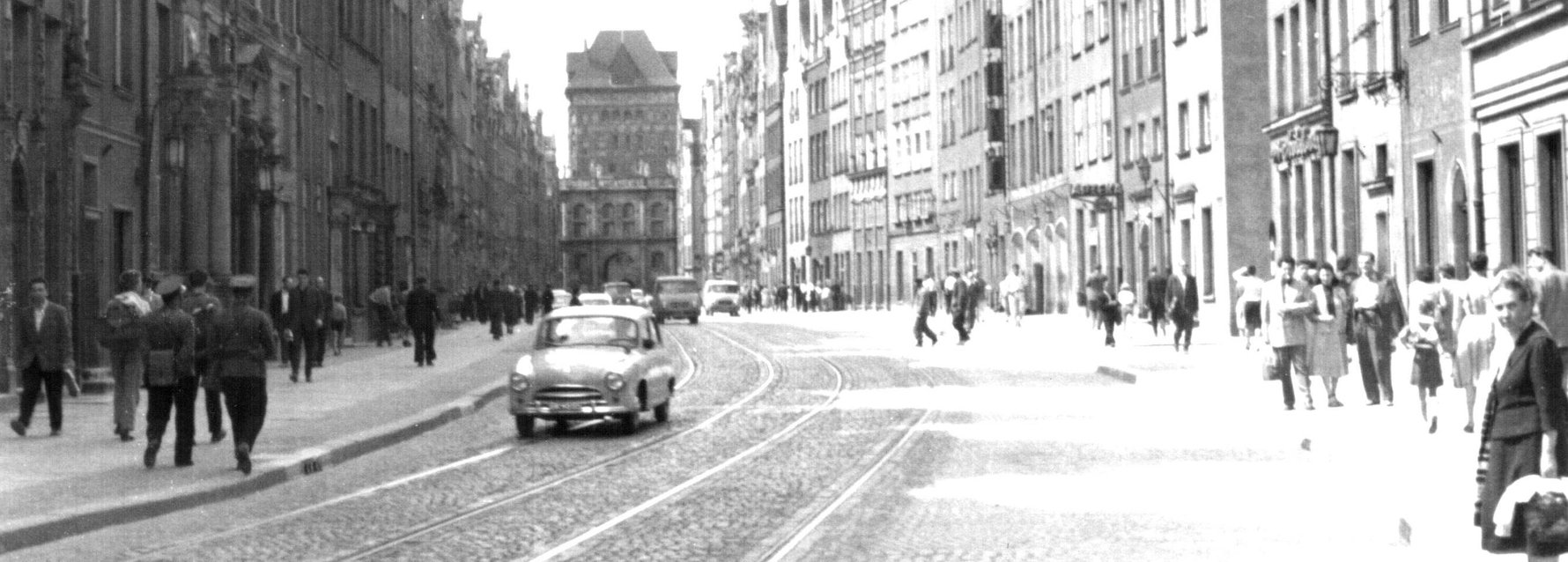Gdańsk - 1960 Photo by Dr. Elekes Andor, Metapolisz Images