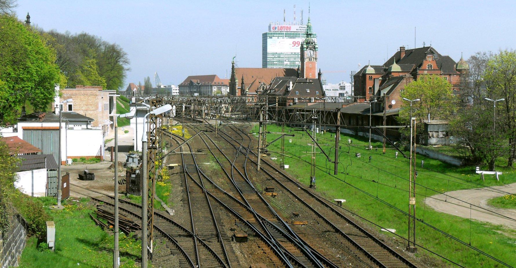 Gdańsk Główny Train Tracks