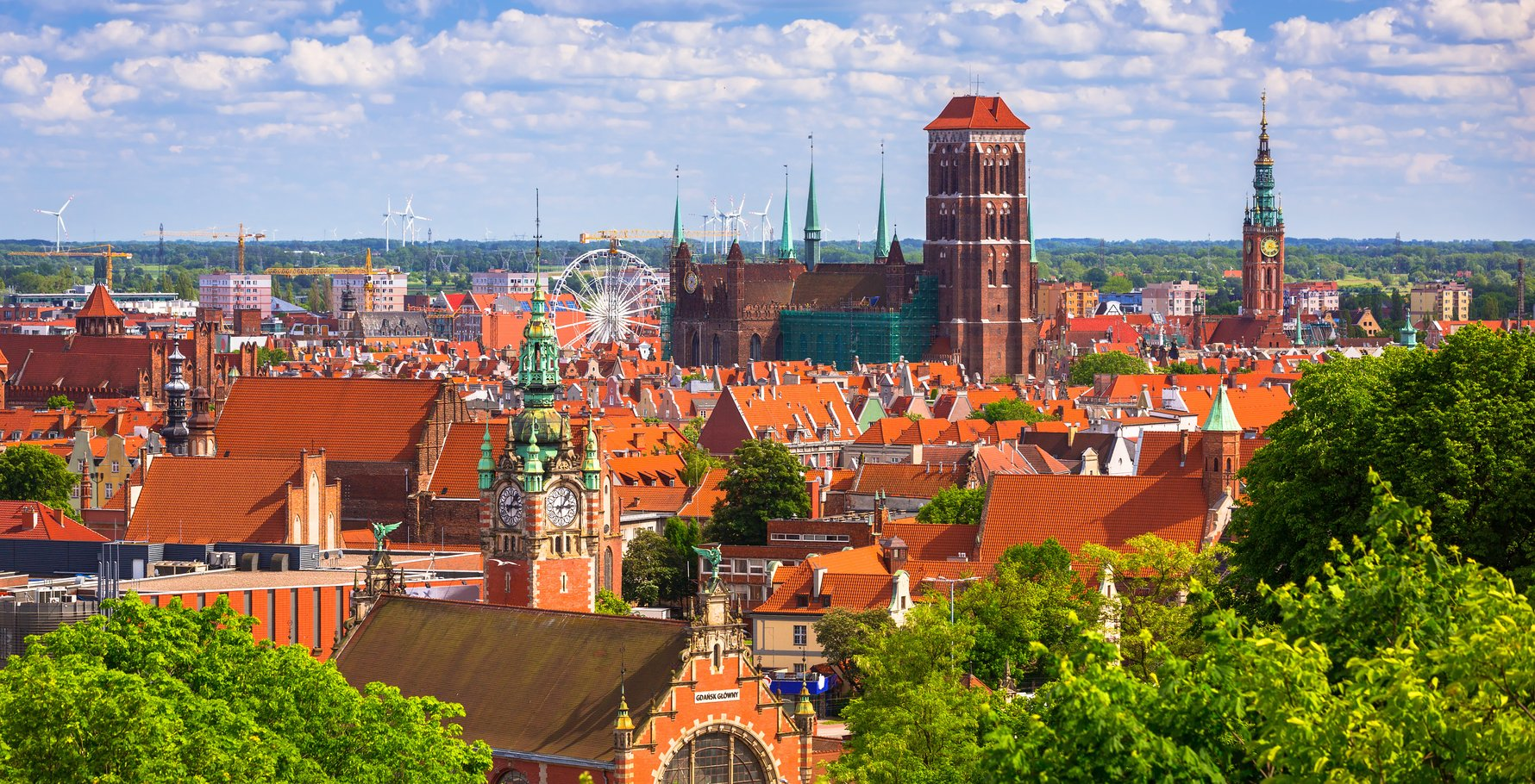 Gdańsk Old Town Panorama Photo by Patryk Kosmider